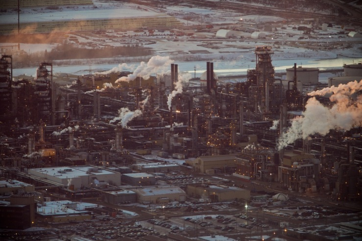 Fort McMurray, tar sands Alberta, Canada